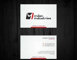 #14 untuk Stationery Design for Milan Industries Pty Ltd oleh F5DesignStudio