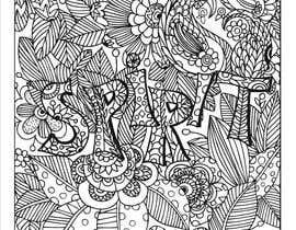 Nro 4 kilpailuun coloring book design: bohemian style käyttäjältä issh12