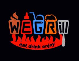 "nº 60 pour Logo for new franchise concept ""We Grill"" par Orlowskiy"