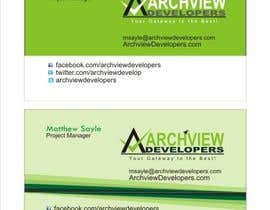 #2 untuk Design some Business Cards for Archview Developers oleh Kani31