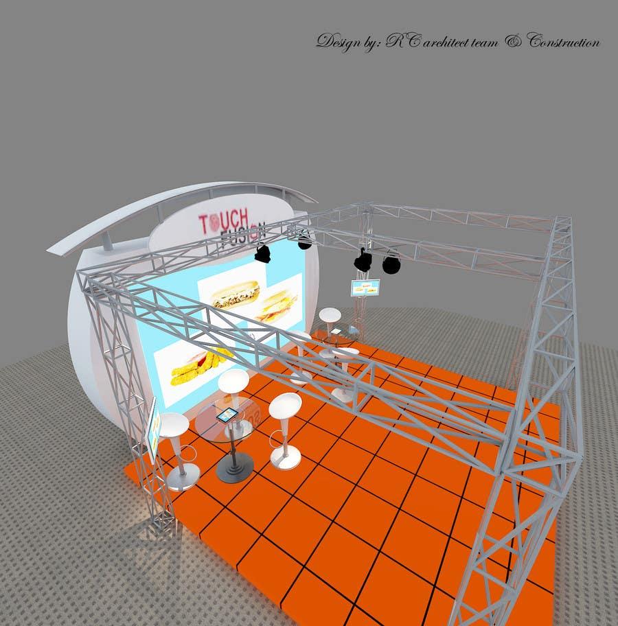 Kilpailutyö #5 kilpailussa Convention Show Booth Design