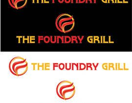 nº 63 pour Design a Logo for The Foundry Grill par fahadsheikh6