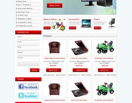 #2 for simple layout for an e-commerce second hand shop by webidea12