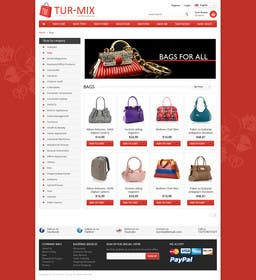 #5 for simple layout for an e-commerce second hand shop by Ponchu