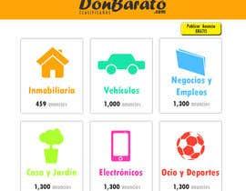 Nro 1 kilpailuun Boceto pagina web de anuncios clasificados käyttäjältä orlan12fish