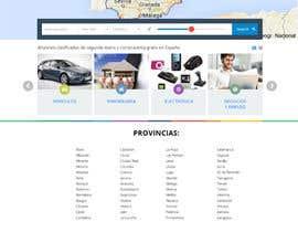 Nro 2 kilpailuun Boceto pagina web de anuncios clasificados käyttäjältä tools2grow20