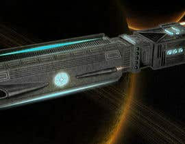 #11 for Concept Art for existing 3D space ship model for SciFi Game by yolid