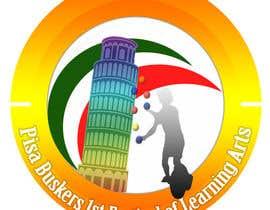 Nro 4 kilpailuun Logo for a busker, juggling and acrobatic Festival under the leaning Tower of Pisa käyttäjältä boconut