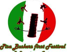 Nro 9 kilpailuun Logo for a busker, juggling and acrobatic Festival under the leaning Tower of Pisa käyttäjältä LFC4179