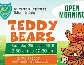 Nro 35 kilpailuun Teddy Bear  Flyer käyttäjältä zinebzeno