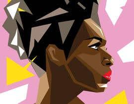 lucianoluci657 tarafından Illustrate Geometric Fashion Portraits için no 4