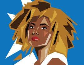 lucianoluci657 tarafından Illustrate Geometric Fashion Portraits için no 13