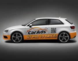 #48 untuk Car Ad Mock-up oleh christarad