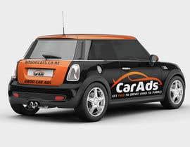 #26 untuk Car Ad Mock-up oleh alkalifi