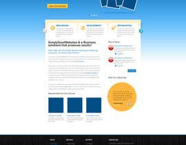nº 14 pour Website Design for Simply Good Websites Ltd. par gfxpartner