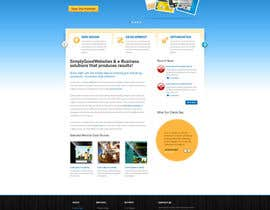 nº 98 pour Website Design for Simply Good Websites Ltd. par gfxpartner