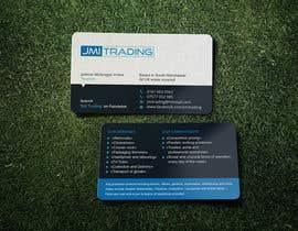 Nro 42 kilpailuun Double Sided Business Card käyttäjältä vadimsoloviev