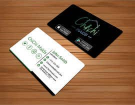 bakhtear05 tarafından Design modern business card with social media icons and available to download on IOS and Android için no 23