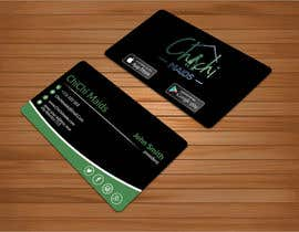 bakhtear05 tarafından Design modern business card with social media icons and available to download on IOS and Android için no 24