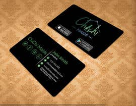 bakhtear05 tarafından Design modern business card with social media icons and available to download on IOS and Android için no 25
