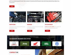 lee800154 tarafından Home page and one sub page designed in PSD for Four Wheel Drive Mechanic Workshop için no 7