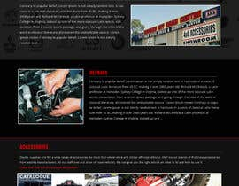 Nro 29 kilpailuun Home page and one sub page designed in PSD for Four Wheel Drive Mechanic Workshop käyttäjältä jituchoudhary