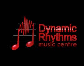 #126 untuk Logo Design for Dynamic Rhythms Music Centre oleh yreenhiba