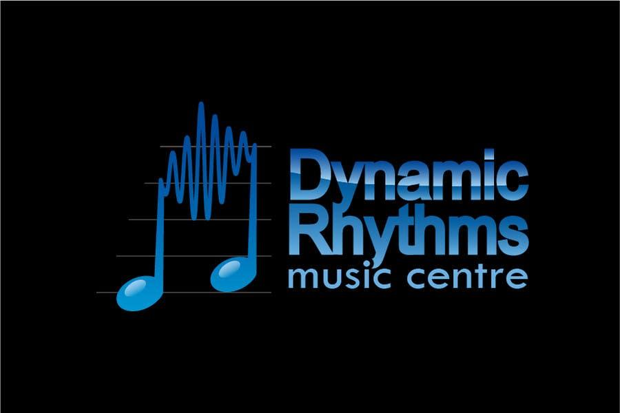 Kilpailutyö #204 kilpailussa Logo Design for Dynamic Rhythms Music Centre