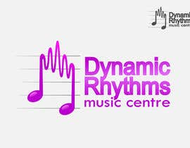 #104 untuk Logo Design for Dynamic Rhythms Music Centre oleh yreenhiba