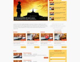 #6 for Design a Website Mockup for www.mukti.ca af designBox16