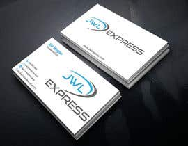 Nro 90 kilpailuun Business Card Design For JWL Express käyttäjältä GraphicsKingdom1