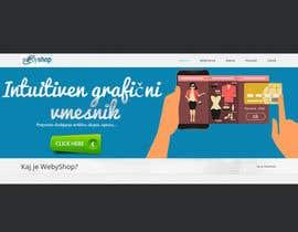 Nro 19 kilpailuun webshop banner käyttäjältä SJADDesigns