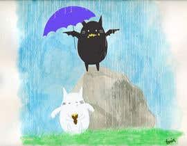 Nro 22 kilpailuun Illustrate Noir Blanc - the two little creatures -- 2 käyttäjältä tonixclac