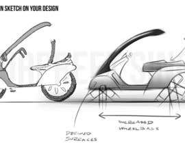 Nro 24 kilpailuun Design Sketch to a new ebike käyttäjältä gsingh1989