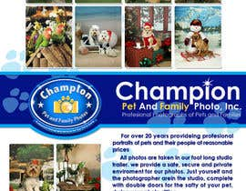 #53 cho Design a Flyer for Pet and Family Photography Business bởi atomixvw