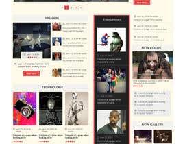 Nro 41 kilpailuun prankster.rocks - create a design mockup for us! käyttäjältä webmastersud