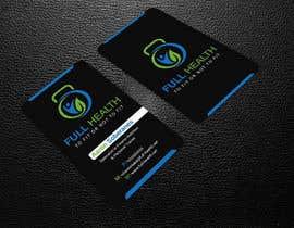 Nro 53 kilpailuun Design come Cool Business Cards for Full Health käyttäjältä designjack