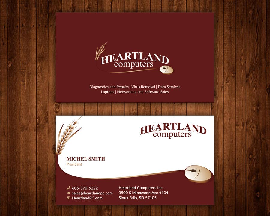 Contest Entry 97 For Business Card Design Needed Computer Company