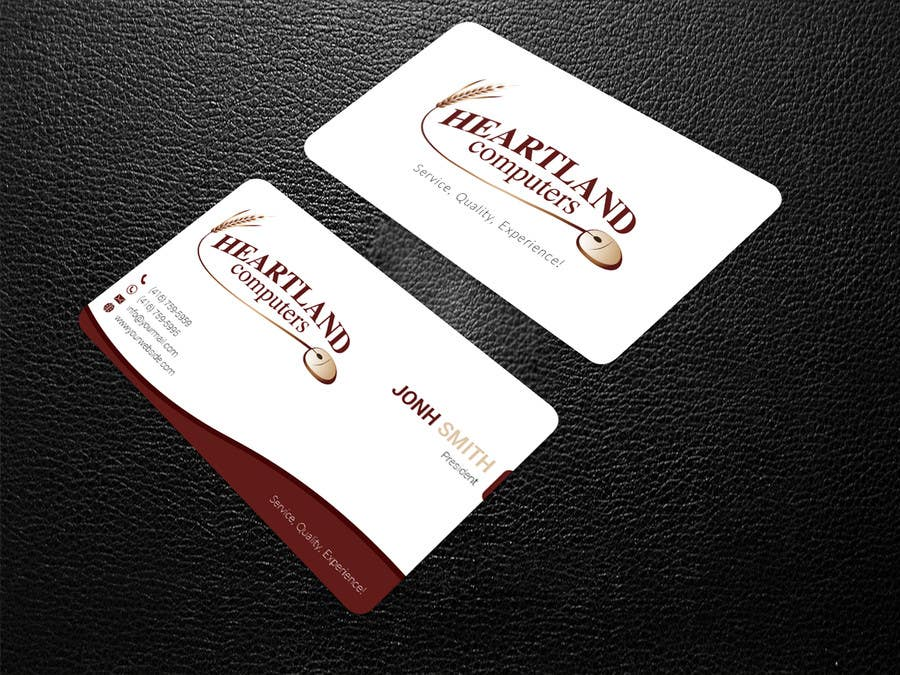 Entry #126 by designjack for Business Card Design Needed For ...