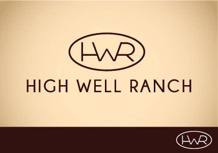 Penyertaan Peraduan #                                        38                                      untuk                                         Design a Logo for High Well Ranch