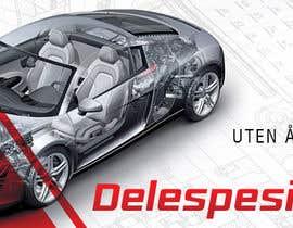 Nro 28 kilpailuun Design banner for car parts 980x300 käyttäjältä hannaametist