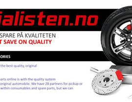 anjusnav tarafından Design banner for car parts 980x300 için no 16