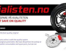 Nro 16 kilpailuun Design banner for car parts 980x300 käyttäjältä anjusnav
