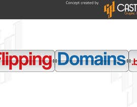 #60 for Design a Logo for FlippingDomains.biz af CasteloGD