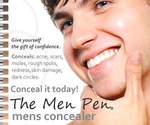 Banner Ad Design for The Men Pen için 53 numaralı Yarışma Girdisi