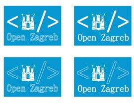 #13 for Design a Logo for Open Zagreb af JanuarEthnic