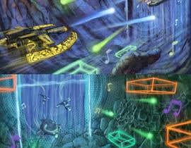 Nro 15 kilpailuun Design / Draw Artwork for Space Shooter game käyttäjältä marinasanc