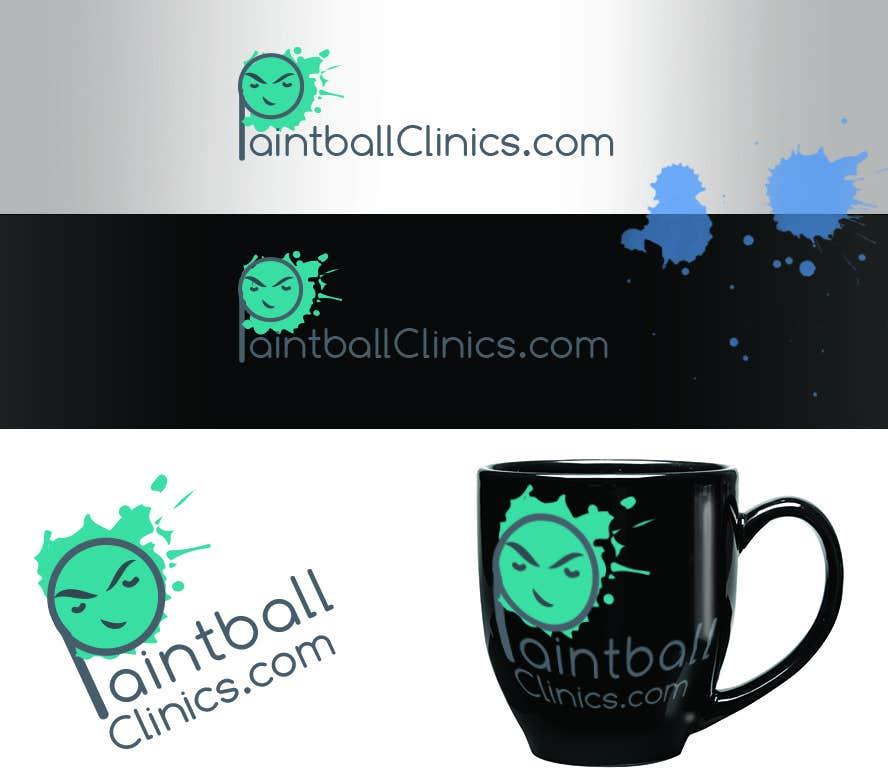 Bài tham dự cuộc thi #118 cho Design a Logo for PaintballClinics.com