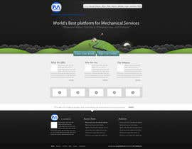 #13 for Design a Wordpress Mockup for my mechnical site by anup27931