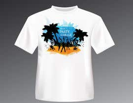 tk6986 tarafından Weekend Life Co Beach Party Tshirt design için no 11